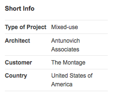 Architect for The Montage