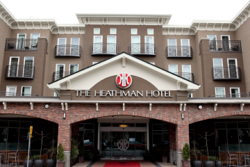 Elements Architectural PVCu WIndows and Doors on Heathman Hotel