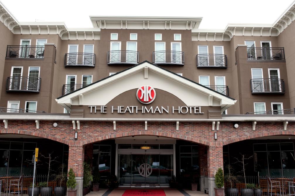 Rehau WIndows and Doors on Heathman Hotel