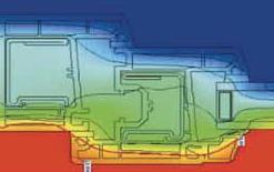 Thermal Image of Bi Fold Door 4500